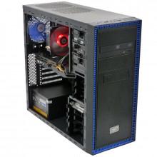 Calculator Gaming Deepcool Tesseract, Intel Core i5 2400 3.1GHz, Intel DH61CR, 8GB DDR3, 500GB, XFX RX 580 8GB DDR5 256-bit, DVI, HDMI, 500W, DVD