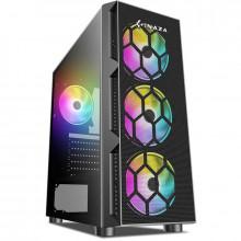 Calculator Gaming Inaza Starfire, Intel Core i5 9400F 2.9GHz, MSI H310M PRO-VDH, 16GB DDR4, SSD 240GB, 500GB, RX 580 NITRO+ 4GB GDDR5 256-bit, DVI, HDMI, 500W
