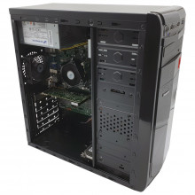 Calculator Gaming Racing, Intel Core i3 3220 3.3GHz, Lenovo IH61MA, 8GB DDR3, 320GB, ATI R5 340X 2GB DDR3, DVI, DVD-RW, 220W