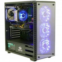 Calculator Gaming Redragon, Intel Core I7 4790 3.6GHZ, MSI B85M-E45, 16GB DDR3, SSD 240GB, 3TB, XFX Radeon RX 580 8GB DDR5 256-bit, DVI, HDMI, 600W