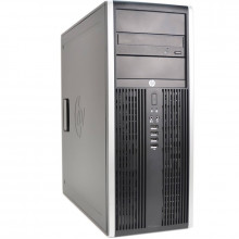 Calculator HP 8200 MiniTower, Intel Core i7 2600 3.8GHz, 8GB DDR3, HDD 1TB, DVD