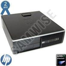 Calculator HP Compaq Pro 6005 SFF, AMD Athlon II X4 620 2.6GHz, 4GB DDR3, 500GB, HD 5450 1GB DDR3 64BIT DVI VGA HDMI, DVD-RW