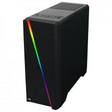Carcasa Gaming Aerocool Cylon RGB, Middle Tower, USB 3.0,Card Reader