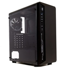 Carcasa Gaming Inter-Tech C-III Saphir Black, USB 3.0, Ventilator 120mm LED RGB