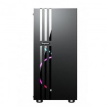 Carcasa Gaming Segotep Fenix 2, USB 3.0, Panou transparent, MiddleTower, Vent. 2x 120mm RGB led