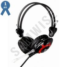 Casti Gaming FanTech Clink HG2, cu microfon, negru
