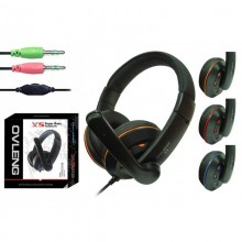 Casti Gaming Ovleng X-5, cu microfon, negru