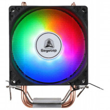Cooler CPU Segotep Frozen Tower TS4, Iluminare RGB