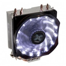 Cooler CPU Zalman CNPS9X Optima White, Ventilator 120mm, Heatpipe-uri Cupru, MultiSocket