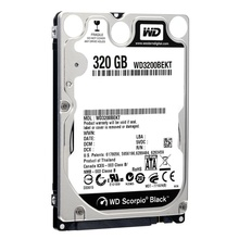Hard disk notebook WD 320GB SATA-II 7200 rpm 16MB Scorpio Black WD3200BEKT