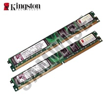 KIT Memorie 2 x 1GB DDR2 667MHz, PC2-5300, Kingston Slim