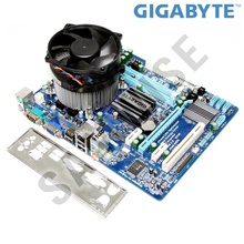 KIT Placa de baza Gigabyte GA-G41MT-S2 DDR3 + Intel Core 2 Quad Q9650 3GHz + Cooler procesor 92mm PWM