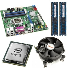 Kit Placa de baza Intel DQ67OW, Intel Core i5-2500 3.3GHz, 4 nuclee, 8GB DDR3, Cooler Akasa