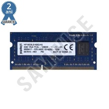Memorie 4GB DDR3 1600MHz Kingston SODIMM 1Rx8 PC3L