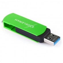 Memorie USB 3.1 Exceleram P2 Series 32GB Green/Black