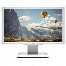 "Monitor LED 23"" Fujitsu Siemens P23T-6 White, Grad A, 1920x1080, 5ms, DVI, VGA, DisplayPort, Cabluri incluse"