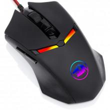 Mouse Gaming Redragon Nemeanlion2 RGB, 7200 dpi, Optic, 7 butoane, Iluminare LED RGB