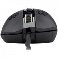 Mouse Gaming Redragon Storm RGB, Optic, 12400 dpi, 7 butoane, cu fir