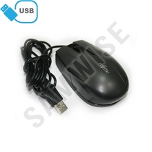 Mouse Optic Fujitsu PC M480 Black, conexiune USB