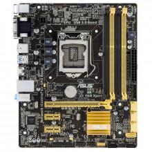 Placa de baza ASUS B85M-G, Intel B85, 4th gen, LGA1150, 4x DDR3, 4x SATA III, HDMI, USB 3.0