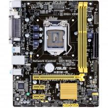 Placa de baza ASUS H81M-D, LGA1150, Intel H81, 2x DDR3, 2x SATA III, 2x SATA II