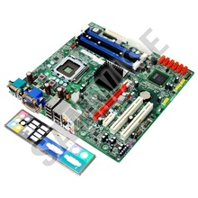 Placa de baza DDR3 LGA775 Acer Q45T-AM, 4 sloturi RAM, video x4500, DVI, audio HD
