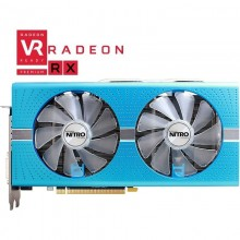 Placa video Sapphire Radeon RX 580 NITRO+ Special Edition, 8GB GDDR5 256-bit, 2x HDMI, DVI, 2x DisplayPort