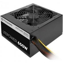 Sursa Gaming Thermaltake Litepower GEN2 650W, 6x SATA, 4x MOLEX, 2x 6+2 pin, PFC activ