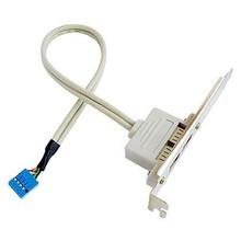 Bracket USB 2.0 Intern la 2x USB 2.0 Extern