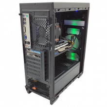 Calculator Gaming Halo 8, Intel Core i5 4590 3.3GHz, MSI H81M-P33, 16GB DDR3, SSD 240GB, 3TB, Sapphire RX 580 NITRO+ 4GB GDDR5 256-bit, DVI, HDMI, 500W