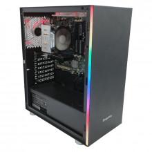 Calculator Gaming Segotep MEX, Intel i7 860 2.8GHz, Intel DQ57TM, 8GB DDR3, SSD 128GB, 500GB, MSI GT 710 1GB DDR3, HDMI, DVI, 300W
