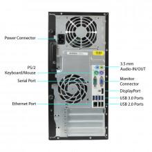Calculator HP 6300 MT, Intel Core i5 3330 3GHz, 8GB DDR3, 250GB, DVD-RW