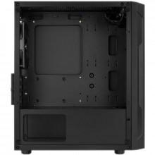 Carcasa Gaming Aerocool Trinity V1, MiniTower, 2x USB 3.0, Panou transparent