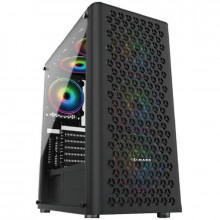 Carcasa Gaming Inaza Fury RGB Tempered Glass, USB 3.0, 4x Vent. 120 mm LED RGB