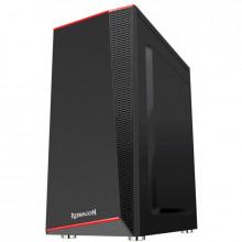 Carcasa Gaming Redragon Ratchet Black, MiddleTower, Panou transparent, USB 3.0