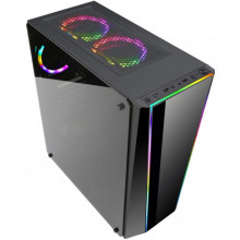 Carcasa Gaming Redragon Tailgate, MiddleTower, Panou transparent, USB 3.0, Vent. 120 mm LED RGB