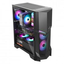 Carcasa Gaming Segotep Gank 3, Middle Tower, USB 3.0, Panou transparent