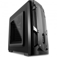Carcasa Gaming Segotep Polar Light Black, MiniTower, USB 3.0