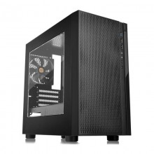 Carcasa Gaming Thermaltake Versa H18 Window, USB 3.0, Panou transparent, MiniTower, Vent. 120mm