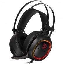 Casti Gaming Tt eSPORTS Shock Pro RGB, Stereo, Iluminare RGB, 2x Jack 3.5mm, TRS, 97db, Difuzoare 40mm