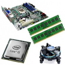 Kit Placa de baza Acer Q65H2-AM, Intel Core i5-2400 3.1GHz, 4GB DDR3, Cooler Intel Stock