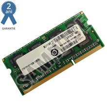 Memorie 2GB MT DDR3 1066MHz SODIMM, pentru laptop, notebook