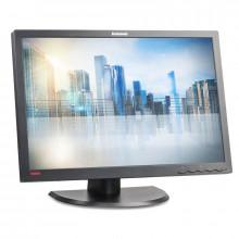 "Monitor LED IPS 24"" Lenovo LT2452P, Grad A, 1920x1200, Full HD, 7ms, VGA, DVI, DisplayPort, USB, Cabluri incluse"