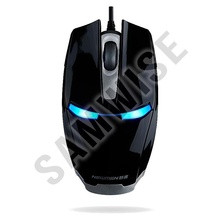 Mouse Newmen MS306 Black, 1000 dpi, Wired, USB