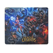 Mouse pad Gaming F2, League of Legends, 240 x 200 x 1mm, diverse modele
