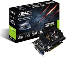 Placa video Asus GTX750 TI, 2GB DDR5, 128-Bit, HDMI, DVI, VGA