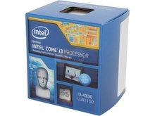 Procesor Intel Core i3 4330 3.5GHz, Haswell, Socket LGA1150, Cache 4MB, FSB 1600MHz, HD Graphics 4600