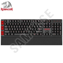 Tastatura Gaming Redragon Yaksa Black K505-BK, Iluminare LED