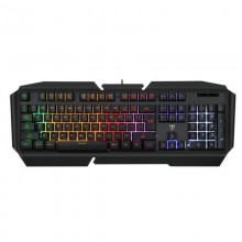 Tastatura Gaming T-DAGGER Landing-ship, 19 taste fara conflict, Iluminare LED RGB, 12 taste multimedia