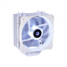 Cooler CPU ID-Cooling SE-214L Snow LED Alb, Ventilator 130mm, 4x Heatpipe-uri cupru